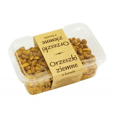 Orzeszki ziemne w karmelu
